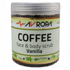 Coffee Face & Body Scrub Vanilla