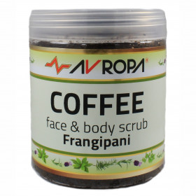 Coffee Face & Body Scrub Frangipani