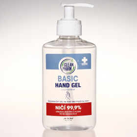 CleanPharm Hand Gel Basic 250ml