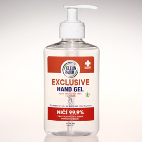 CleanPharm Hand Gel Exclusive 250ml